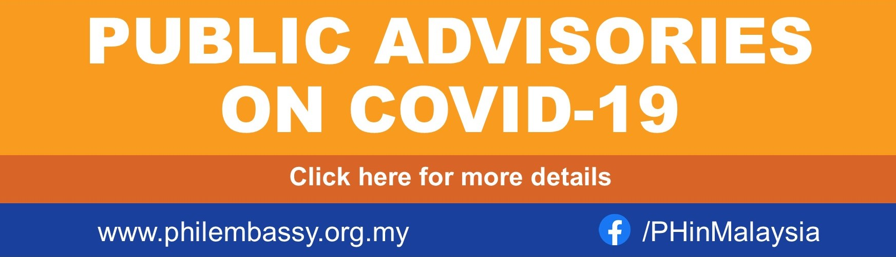 Advisories on COVID-19