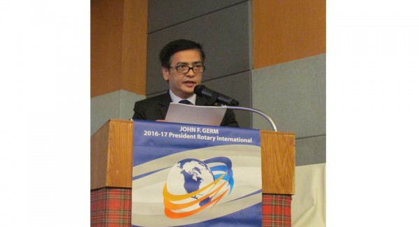 Ambassador Jose Presents Trade, Investment Opportunities in Phl at Rotary Meeting