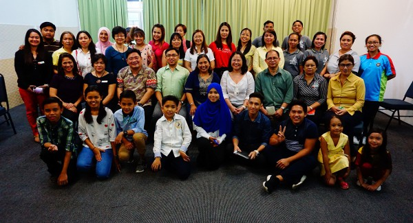 UST Conservatory of Music, Phl Embassy Hold Workshop for Volunteer Teachers and Filipino Children in Sabah