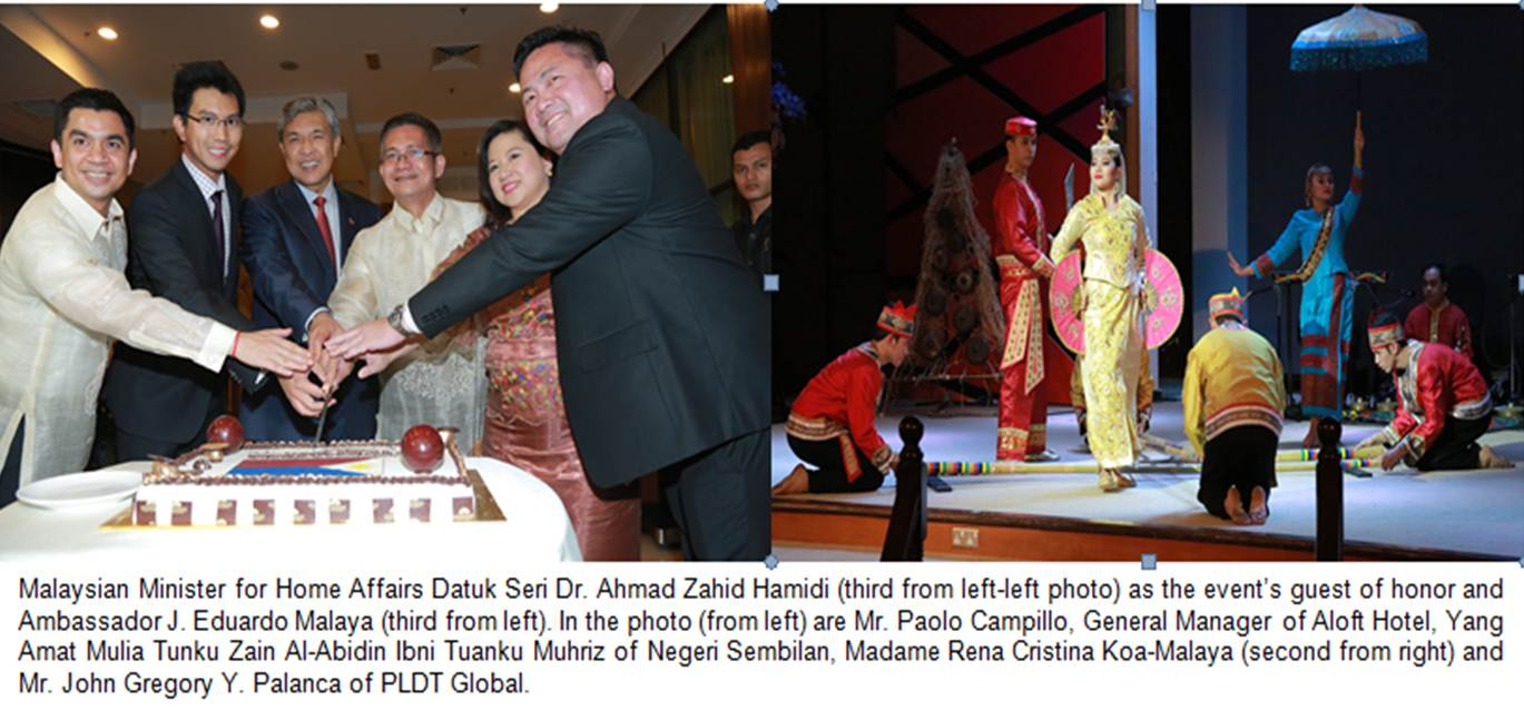 Phl embassy in kl commemorates independence day with for Consul performance