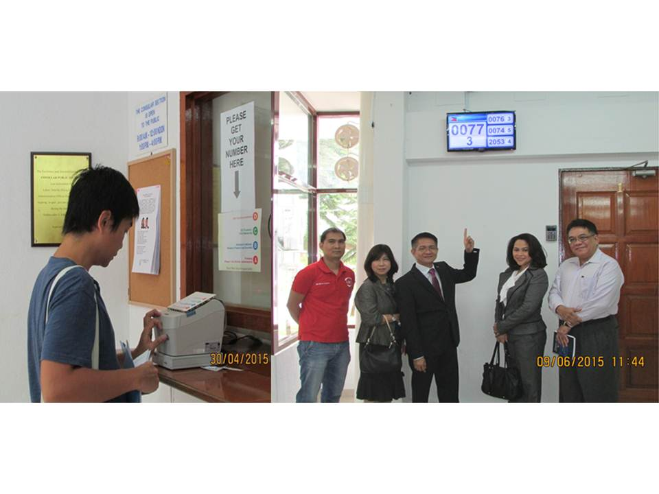 Phl Embassy Eliminates Queues with Introduction of